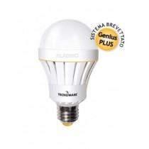 Tecnoware Aladino Lampadina E27 Led con Batteria, Potenza 10W, Classe di efficienza energetica A+