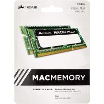 Corsair Kit Ram 16GB (2x8GB) DDR3L 204-pin SODIMM, PC3-14900, 1866MHz per Mac