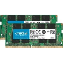 Crucial CT2K8G4SFS8266 Kit Ram 16 GB (8 GB x 2) DDR4, 2666 MT/s, PC4-21300, SODIMM, 260-Pin