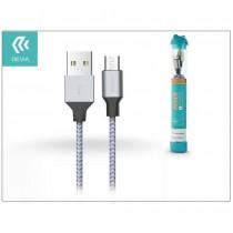 DEVIA CAVO USB - MICRO USB 1MT IN NYLON INTRECCIATO CERTIFICATO QC