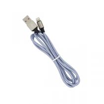 DEVIA CAVO USB LIGHTNING 1MT IN NYLON INTRECCIATO CERTIFICATO QC