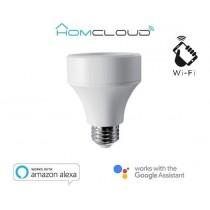 HomCloud EE-BHE27 Adattatore Wi-Fi E27/E27 per lampadine, MAX 40W LED, dimmerabile