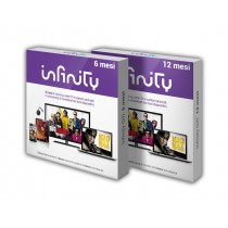 Infinity+ Pass 6 mesi, la grande TV di Infinity e Mediaset