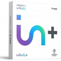 Mediaset Infinity+ Gift 6 mesi di visione, Cinema, Serie TV e UEFA Champions League