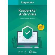 Kaspersky Antivirus 2021 ESD 1 Pc 1 Anno. Versione Full valida anche come rinnovo.