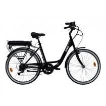 """VIVO City Bike VC26B Bici elettrica a pedalata assistita 26"""""""