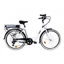 """VIVO City Bike VC26G Bici elettrica a pedalata assistita 26"""""""