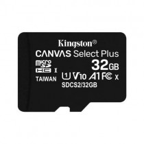 Kingston MicroSD 32GB XC UHS-I Classe 10 Canvas Select Plus