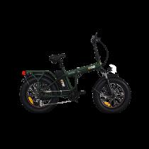 "THE ONE NITRO Fat Bike Pieghevole, battistrada 20""x4"", Motore 36V/250W/Brushless 25 km/h"