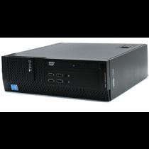 DELL XE2SFF PC I5-4570/4GB/500GB/DVD/WIN7PRO/10 UPGRADE COA RIGENERATO