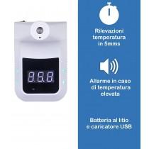 Termoscanner professionale con supporto piantana Gocciasana Certificato CE, EMC, LVD, 100% Made in Italy