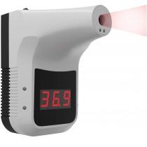 Termoscanner ad infrarossi automatico a muro per la rilevazione della temperatura a distanza